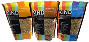 Kind Healthy Grains Clusters Variety 3 Pack