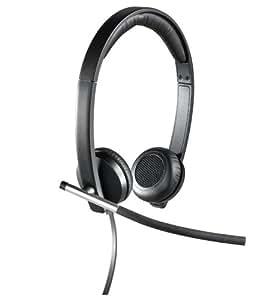 Logitech H650e Stereo Headset USB schwarz