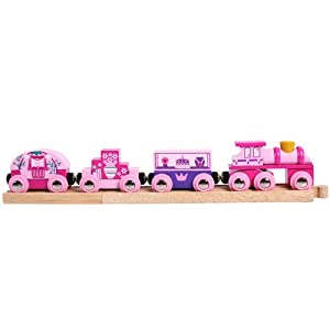 Bigjigs Rail BJT451 Princess Train