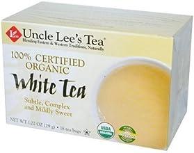 Uncle Lee39s Tea Tea Organic White 18 bag  Value Bulk Multi-pack
