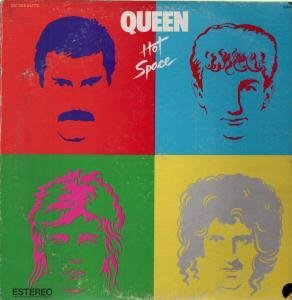 HOT SPACE LP (VINYL ALBUM) MEXICAN EMI 1982