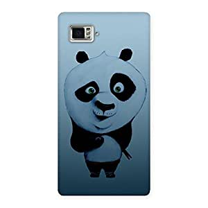 Impressive Panda Puzzled Multicolor Back Case Cover for Vibe Z2 Pro K920