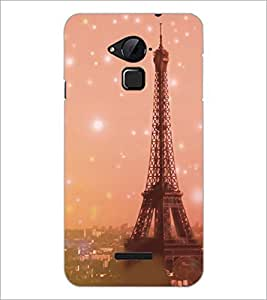 PrintDhaba Tower D-3927 Back Case Cover for COOLPAD NOTE 3 LITE (Multi-Coloured)