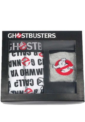 GHOSTBUSTERS BOXER & SOCK SET