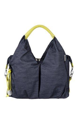 Lï¿œssig Changing Bag Green Label Neckline Bag, denim blue by Lï¿œssig