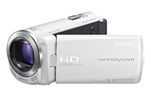 Sony Handycam CX250 Full HD Camcorder - White (8.9MP, 30 x Optical Zoom) 3 inch LCD