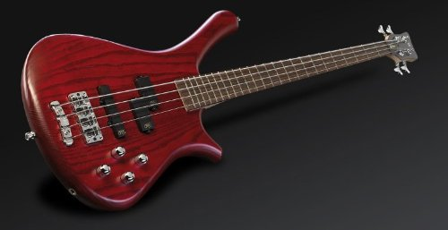 Warwick Fortress Burgundy Red Oil Active 4 String Electric Bass Guitar