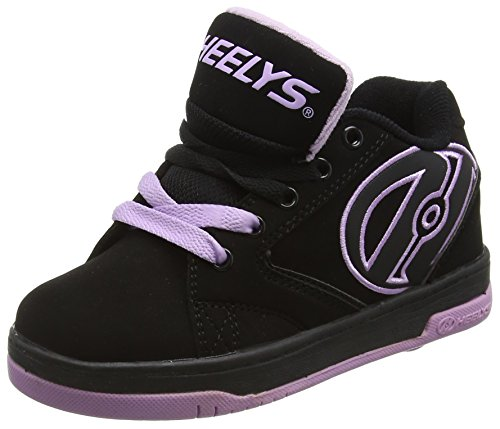 HeelysPropel 2.0 770516 - Sneakers da ragazza', Multicolore (Black/Lilac), 36.5