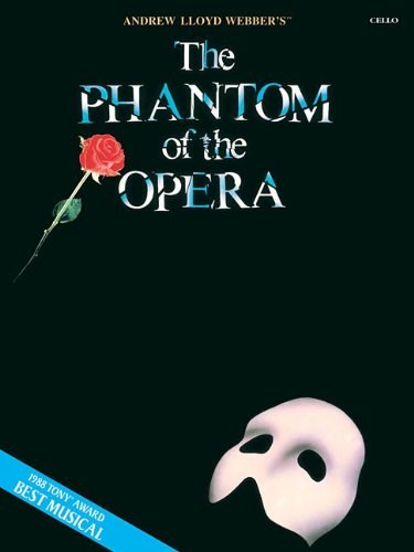 The Phantom of the Opera Cello (Book Only)