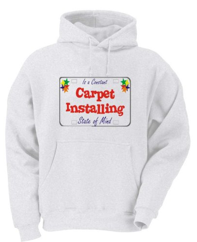 Carpet Installing Catering Is a Constant State of Mind Adult Hooded Sweatshirt MEDIUM
