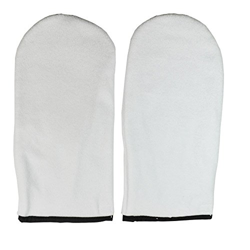 DL Professional DL-C129 Terry Cloth Mitts, 1 Pair