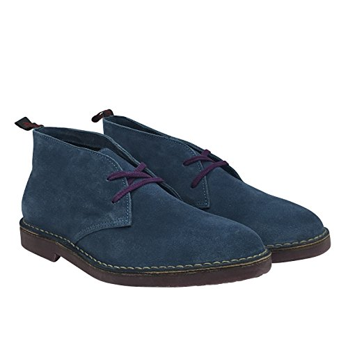 Wally Walker Chukka, Stivali uomo Blu Azul - azul (Steel Blue)
