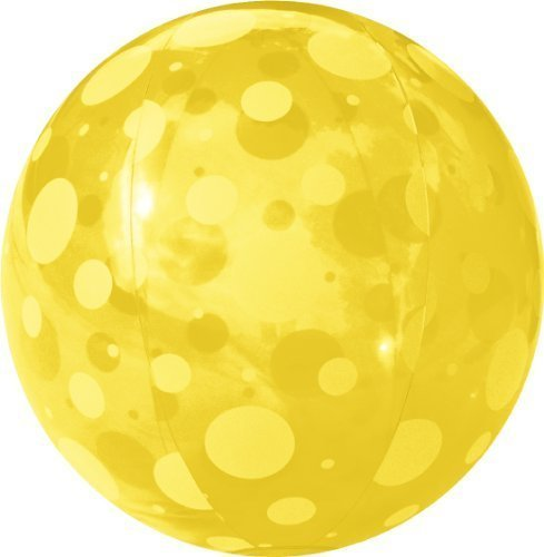 FIELDOOR beach ball 51cm yellow (polka dots) (japan import) by Composite by Composite online bestellen