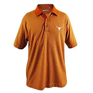 Texas Longhorns Cutter and Buck Drytec Resolute Polo by Cutter & Buck