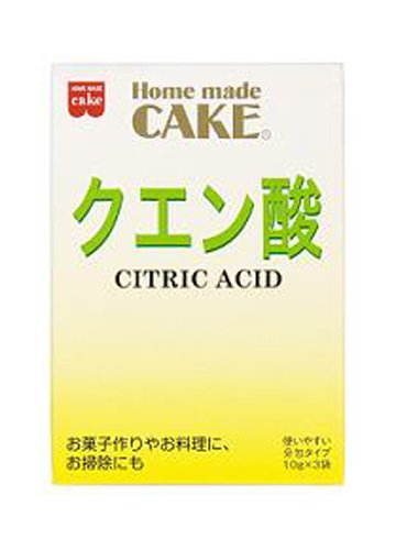 30 g citric acid x 10