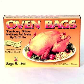 Durable Packaging H32020 Turkey Oven Bags (24 Packs of 2 Bags with Ties)