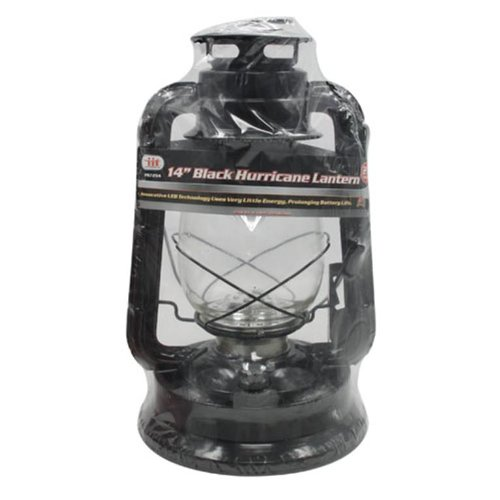 Iit 97294 14-Inch 21 Led Hurricane Lantern, Black
