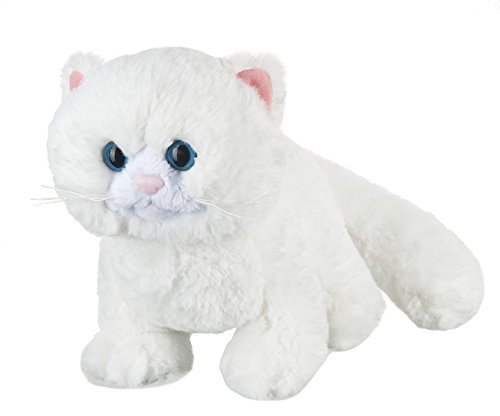 Webkinz-85-Snow-Soft-Kitty-Plush