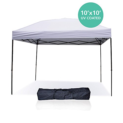 Pop-Up-Canopy-Tent-10-x-10-Feet-  sc 1 st  Discount Tents Nova & Pop Up Canopy Tent 10 x 10 Feet White u2013 UV Coated Waterproof ...