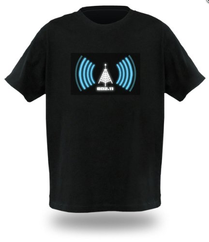 Wi-Fi Detector Shirt Size L (Large) - A shirt with a built-in Wi-Fi signal detector
