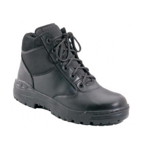Forced Entry Black 6'' Tactical Boot for EMS / SWAT / Police Duty