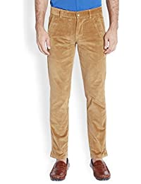 Parx Medium Khaki Men's Trouser