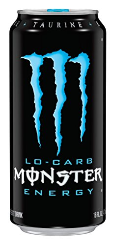 Monster Energy Drink, Lo-Carb, 16 Ounce Cans (Pack of 24) (Low Carb Monster Energy Drink compare prices)