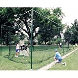 ATEC Free Standing Batting Cage Frame 70 Feet by Atec