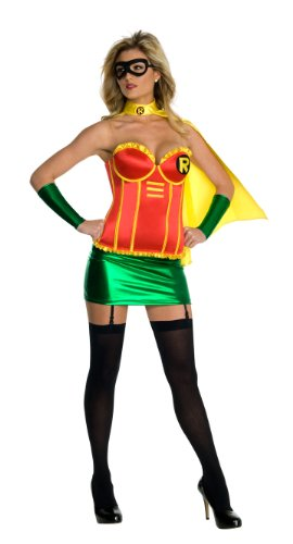 Rubie's Costume Co Womens Secret Wishes DC Comics Robin Corset Costume