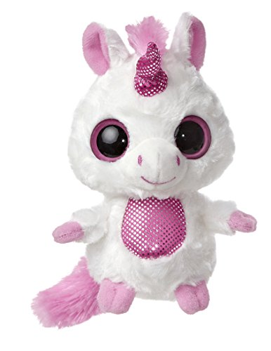 "Blush Pink Unicorn Yoohoo 5"" by Aurora"