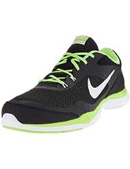 Nike Women S Flex Trainer 4 White Silver Bright Grape Sneaker Black/White/Ghost Green 7 B(M) US