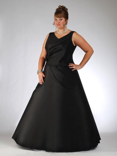 Envie/Paris – 1011 MONI Abendkleid Ballkleid 1-teilig in Schwarz 46-60 Reviews