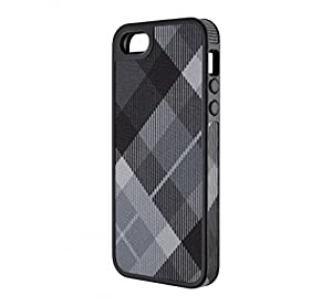 Speck Products FabShell Fabric-Covered Case for iPhone 5 & 5S  - MegaPlaid Black
