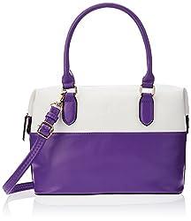 Sugarush Mischief Women's Satchel Handbag (Purple)