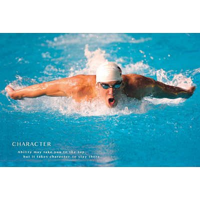 (24x36) Michael Phelps Motivational Poster