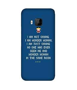 Wonder Woman HTC One M9+ Case
