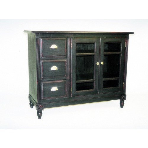 Wayborn Country Sideboard in Antique Black