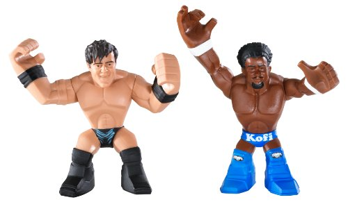 WWE Rumblers Kofi Kingston and Justin Gabriel Figure 2-Pack