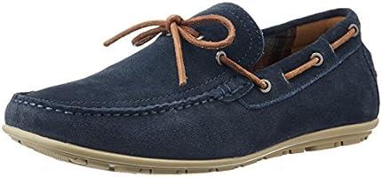 Bata Men's Loyd Blue Leather Loafers and Mocassins - 9 UK/India (43 EU) (8539212)