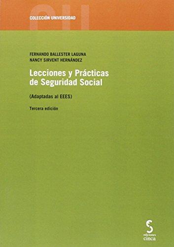 LECCIONES Y PRACTICAS DE SEGURIDAD SOCIAL