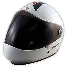 Triple 8 Helmet Racer Downhill Longboard White Helmet, S/M