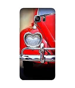Heart Car Samsung Galaxy Note 5 Edge Case