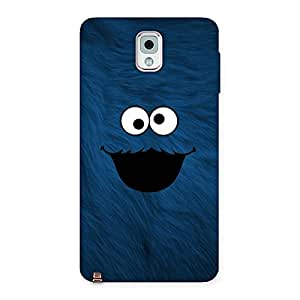 Impressive Blue Funny Ghost Back Case Cover for Galaxy Note 3