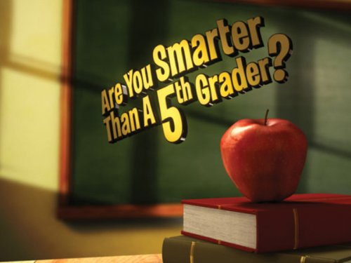 Are You Smarter Than a 5th Grader? Season 1 movie