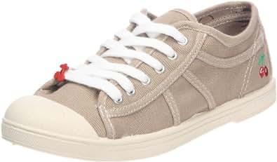 Le Temps des Cerises Basic 02, Sneakers Basses femme, Beige (Dk Sand), 36 EU