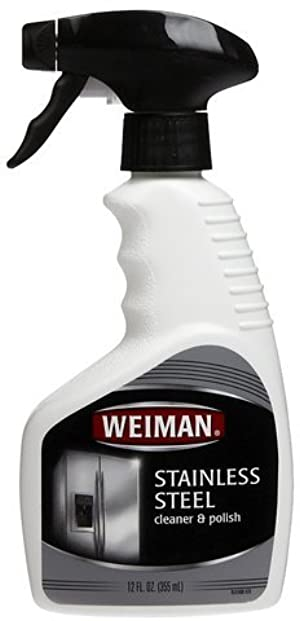 Weiman Stainless Steel Cleaner & Polish, 22 fl oz ( GoodSet Pack of 3)