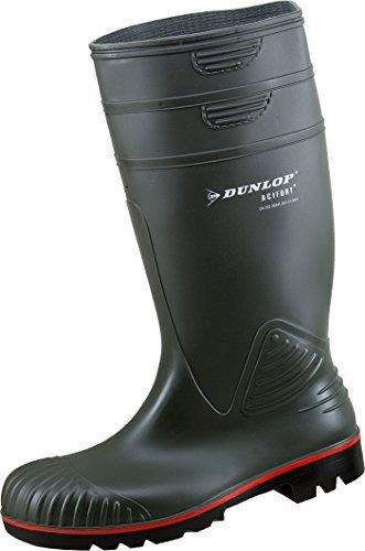 Dunlop Acifort ,Gummistiefel,Regenstiefel,Arbeitsstiefel,Freizeitstiefel (46, oliv)