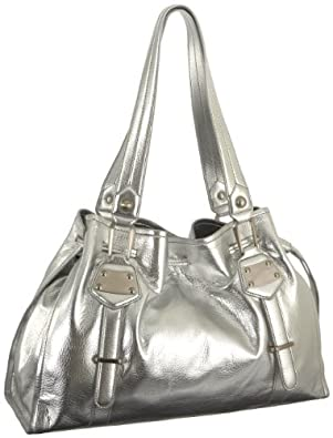 Jessica Simpson Bags Bag it Tote (Silver)