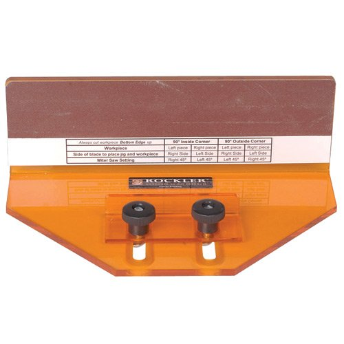 Rockler Crown Molding Compound Miter Jig $24.75