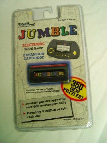 Jumble Electronic Word Game Expansion Cartridge - 1